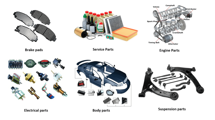 Korean Motor Spares Midrand Parts Product